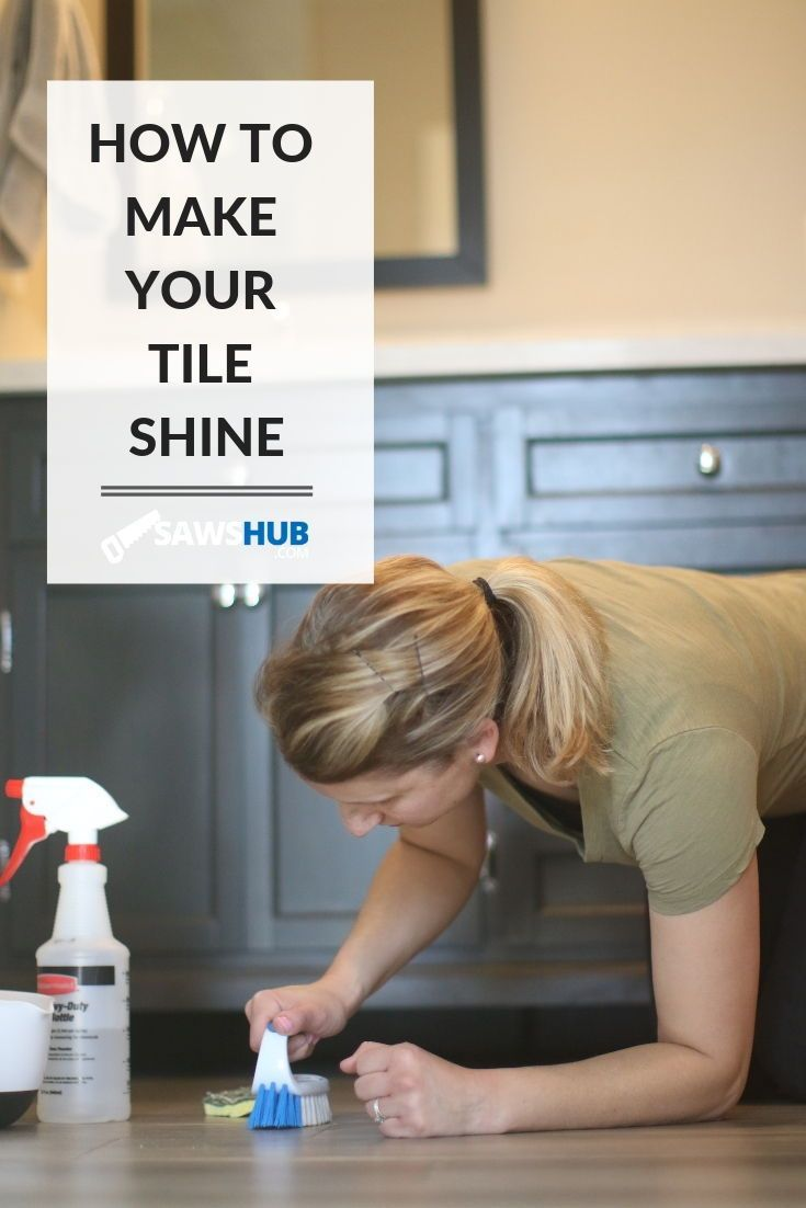 How To Make Tile Shine Porcelain Ceramic And Marble With