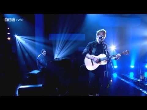 Ed Sheeran- Thinking Out Loud [BRAND NEW SONG Live on Jools Holland] This is quite possibly my favorite of his new songs. It's brilliant. This man is such a genius.