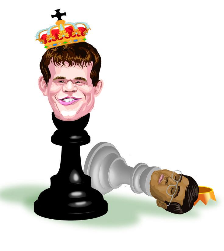 Magnus Carlsen - Marco Vaglieri 2013