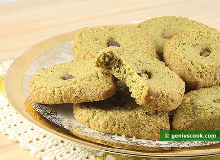 Pistachio Cookies Mona Lisa Recipe | Baked Goods | Genius cook - Healthy Nutrition, Tasty Food, Simple Recipes