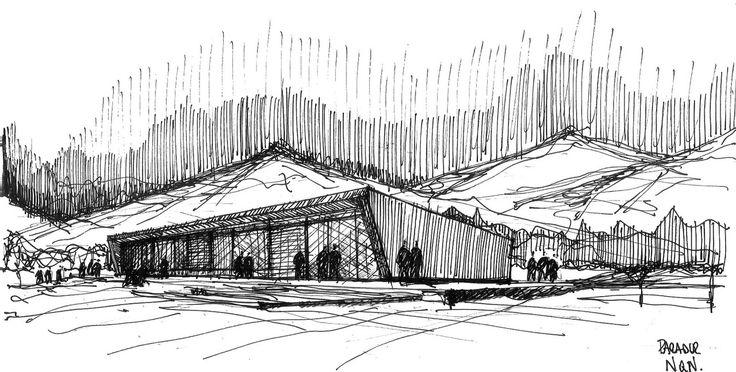architecture  fabricio contreras ansbergs  sketch