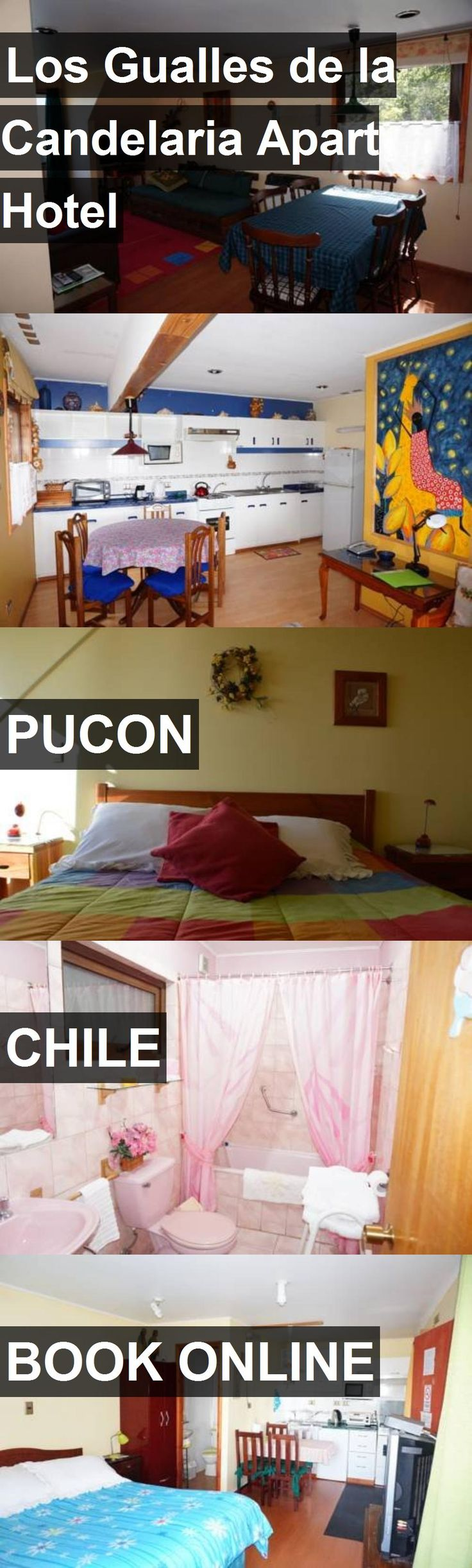 Hotel Los Gualles de la Candelaria Apart Hotel in Pucon, Chile. For more information, photos, reviews and best prices please follow the link. #Chile #Pucon #LosGuallesdelaCandelariaApartHotel #hotel #travel #vacation