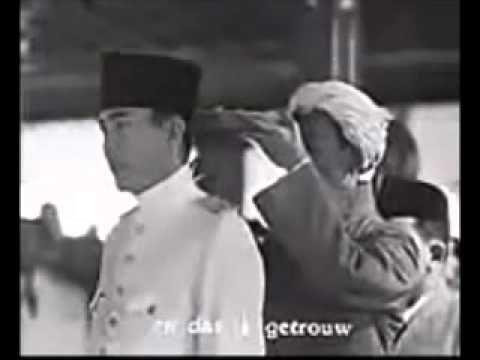 Pelantikan Presiden RIS Pertama Soekarno