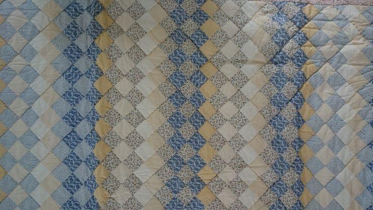 Patroon handgemaakte quilt nummer 12 | VIA CANNELLA WOONWINKEL | CUIJK