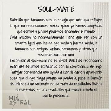 Ego mates, karma mates y soul mates 101 - Miastral