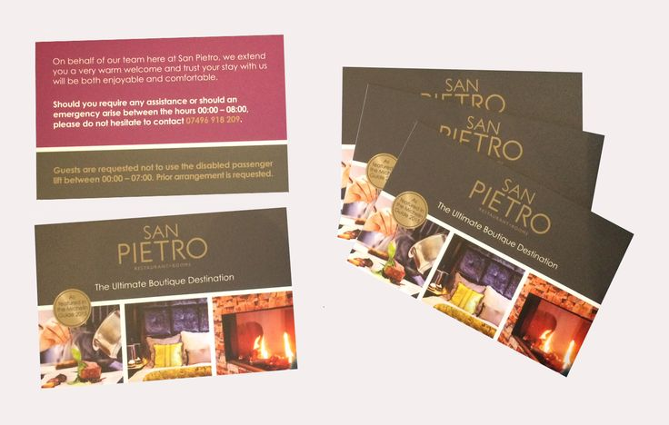 San Pietro Business Card