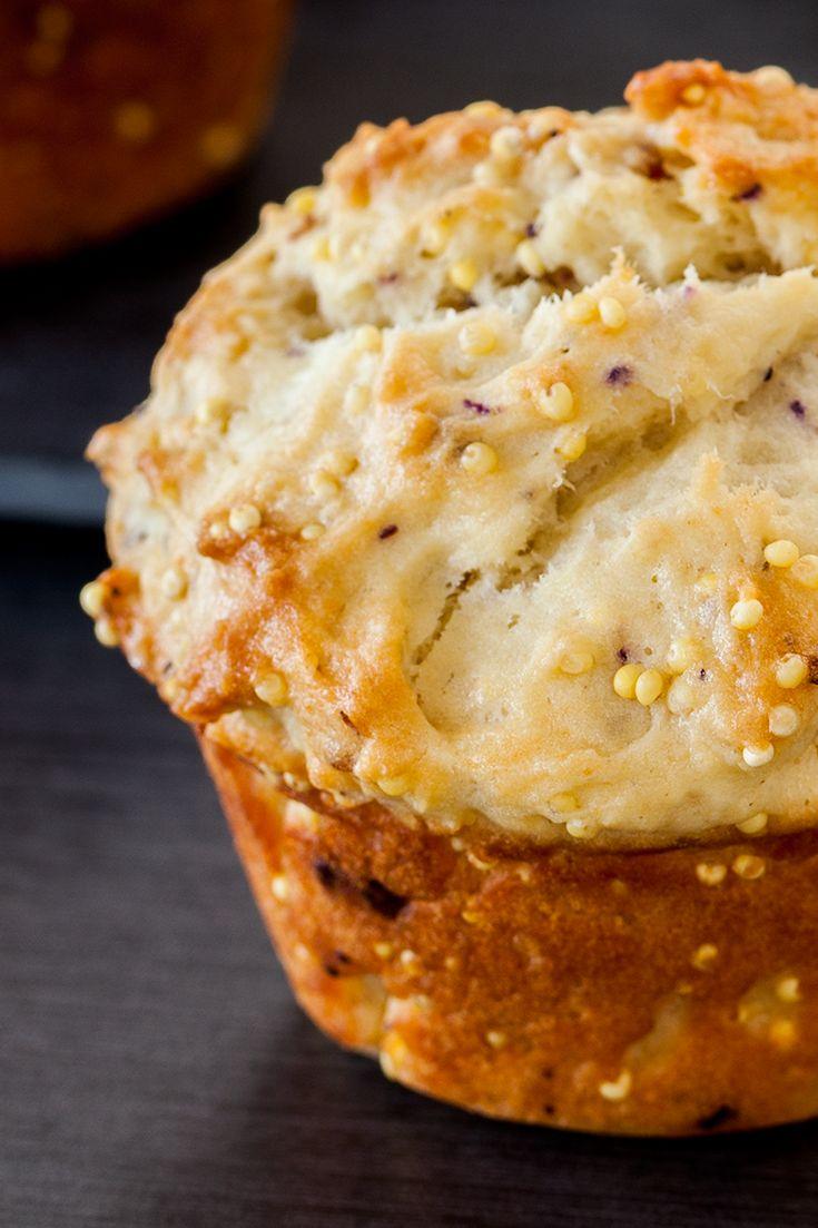 #Epicure Summer Berry Millet Muffins (380 calories/serving) #portioncontrol