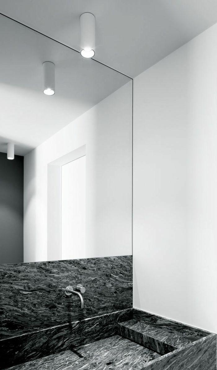 1000 idées sur le thème grands miroirs de salle de bains sur ...