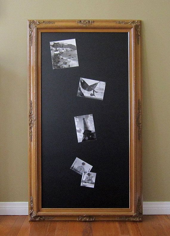 long narrow chalkboard for sale 56x32 baroque oak kitchen magnetic decorative extra large french country tuscan kitchen home decor - Kitchen Bulletin Board Ideas