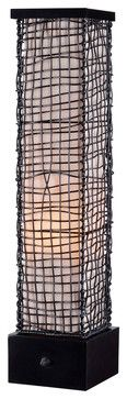 Kenroy 32249BRZ Trellis Outdoor Table Lamp - transitional - outdoor lighting - Lighting Front