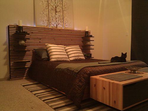 Ikea Hackers Mandal Headboard Wall Hack Home Decor