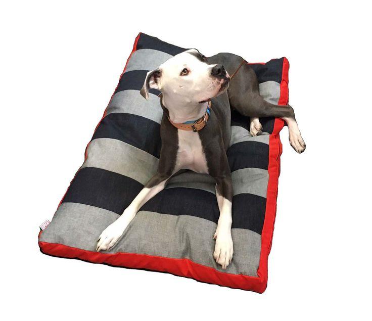 Salvaged Selvedge Denim Dog Bed
