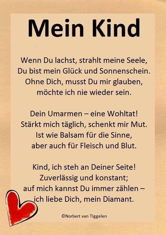 Pin Von Ramona Kunze Auf Tochter Enkelkind Gedichte Spruche Und