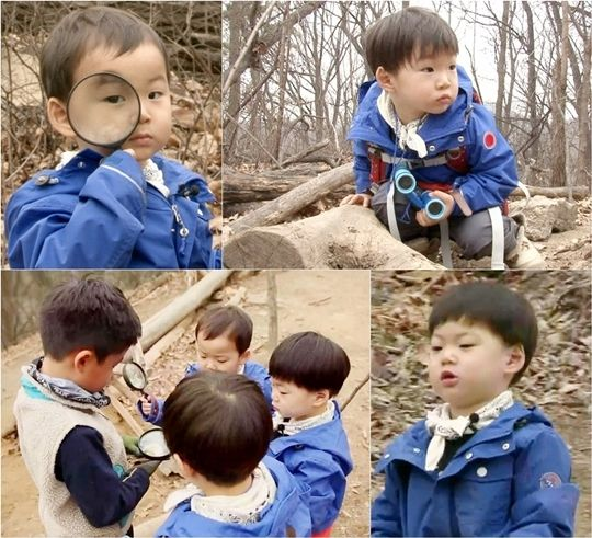 """Superman Returns"" Triplets Transform into Caterpillar Explorers"