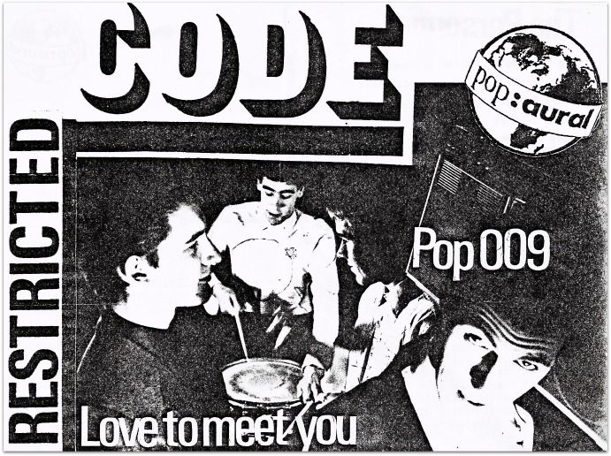 Orange Juice, Thursday 2nd April 1981. Fire Engines and Restricted Code, Thursday 9th April. Both at The Limit Club, Sheffield.