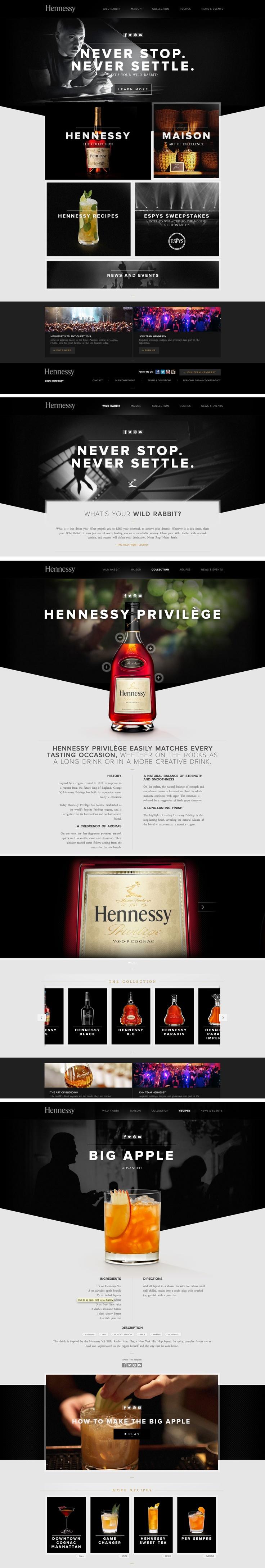 hennessy, drink, black