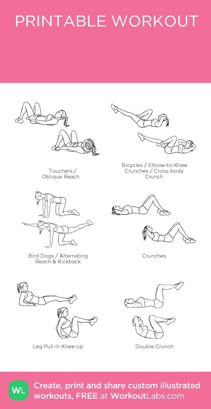 Имя тренировки:my visual workout created at WorkoutLabs.com • Click through to customize and download as a FREE PDF! #customworkout
