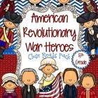 11 informational passages about American Revolutionary War Heroes. 2 pages of Close Read questions per person. Made for 5th grade. Also available for 4th and 3rd grades. $