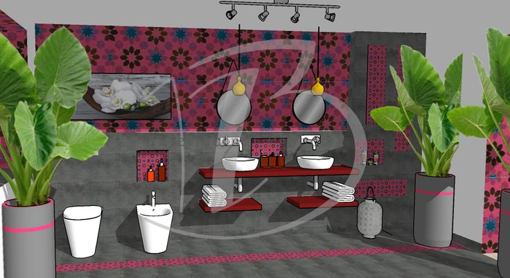 Gypsy bathroom! by Nicoletta Bossi Architect