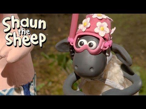 Shaun the Sheep - Championsheeps - Swimming (OFFICIAL VIDEO)