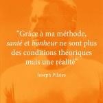 Citation de Joseph Pilates #1