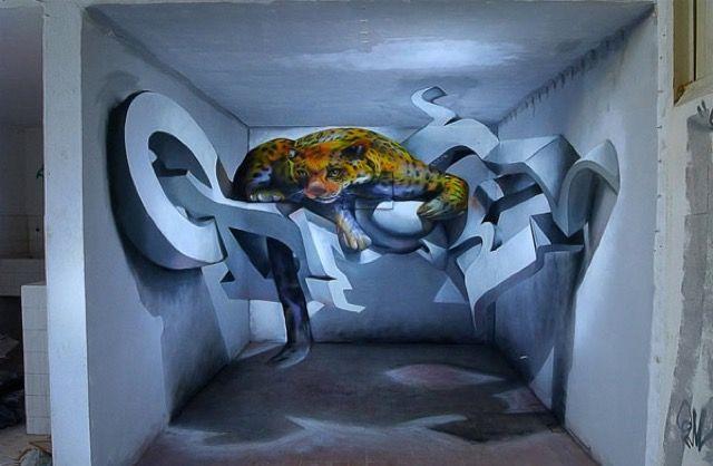 Anamorphic Graffiti Illusions by Odeith _2