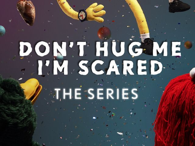 Don't Hug Me I'm Scared : The Series by Becky and Joe — Kickstarter  My little sister told me to pin this... 0.o