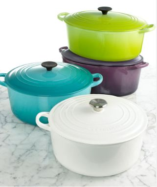 i have this purple cook ware from le cruset need the purple one to add to my collection that i absolutely LOVE!