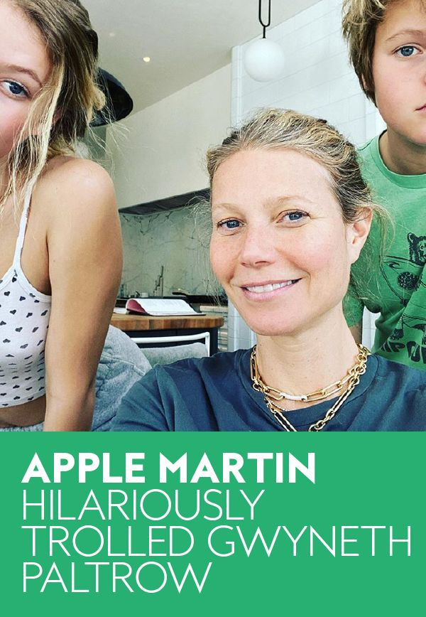 Gwyneth Paltrow S Daughter Apple Martin Trolled Her To Do List