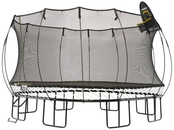 Fancy | Springfree Jumbo Trampoline With Basketball Hoop