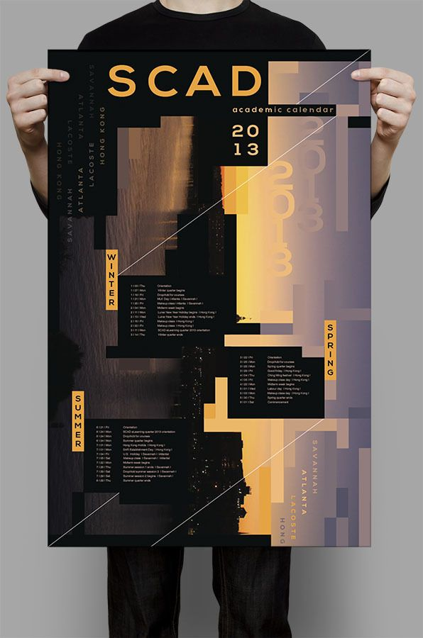 Best 25+ Academic Calendar Ideas On Pinterest | Poster Layout