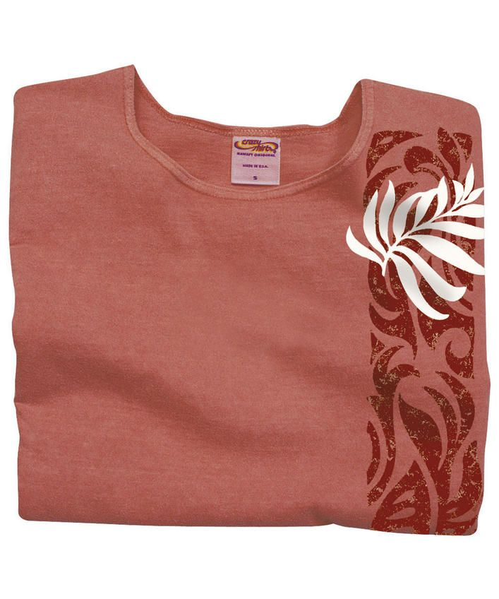 Mapuana - Hibiscus-Dyed Scoop-Neck T-Shirt