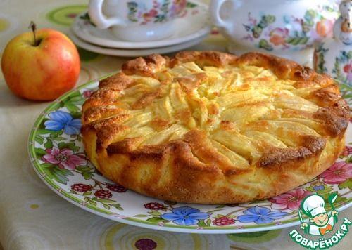 Итальянский деревенский яблочный пирог - кулинарный рецепт