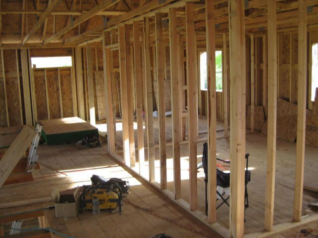 Interior Stud Wall Construction : Best images about wood framing on pinterest new