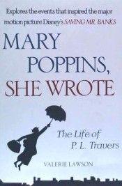 Portada de Mary Poppins, She Wrote: The Life of P. L. Travers