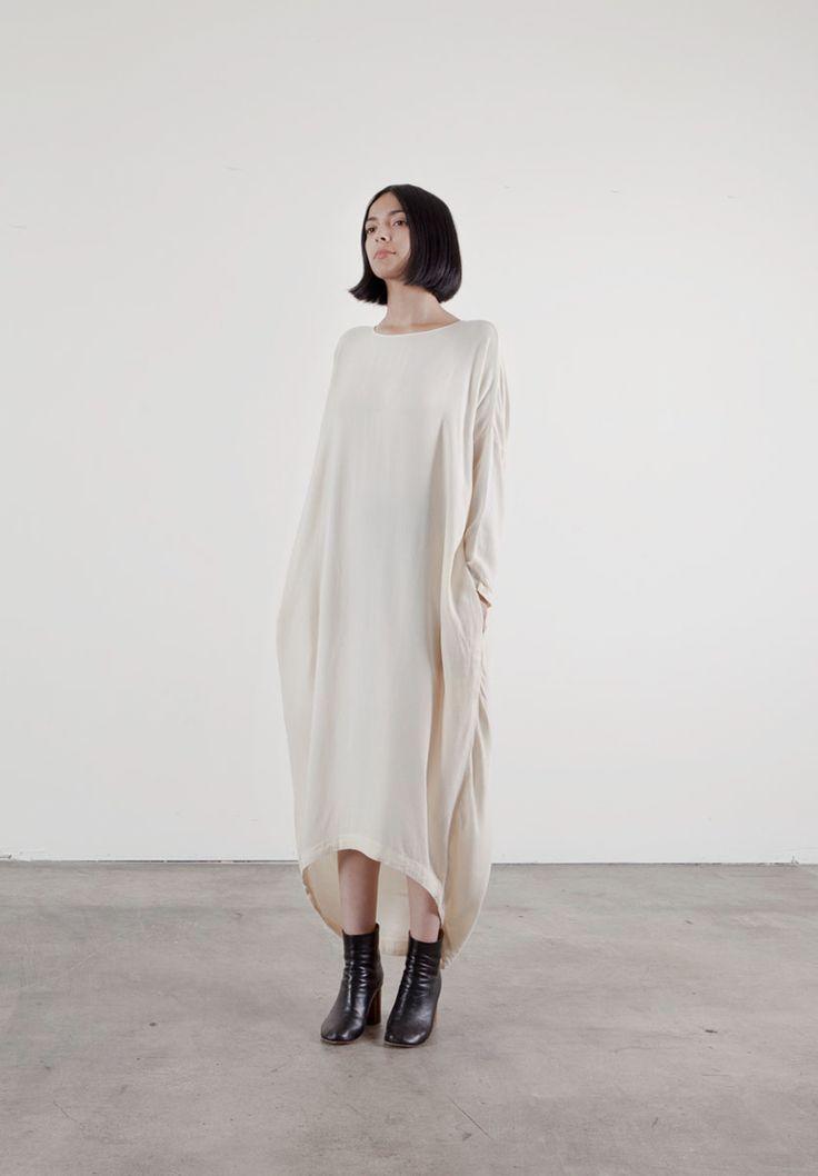 Black Crane - cocoon dress - Scandi Dandies   Scandianvia Standard