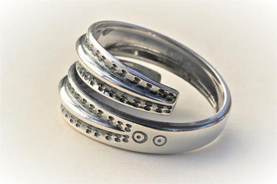 Vintage David-Andersen Norway. Silver Sterling Ring Viking
