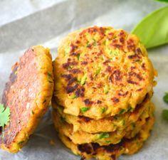 Hamburguesas de garbanzos y calabacín | #Receta de cocina | #Vegana - Vegetariana http://www.tipsnutritivos.com/alimentacion/recetas/