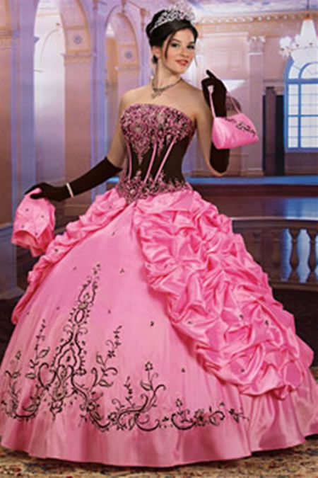 Pink Wedding Dresses Princess : Wedding dress pink princess dresses dressses