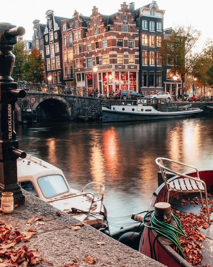 "Amsterdam (Amsterdamshots) on Instagram: ""Autumn in Amsterdam but it feels lik…"