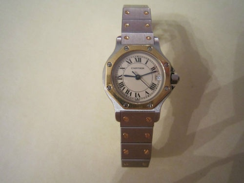Cartier Santos Watch--have in all stainless