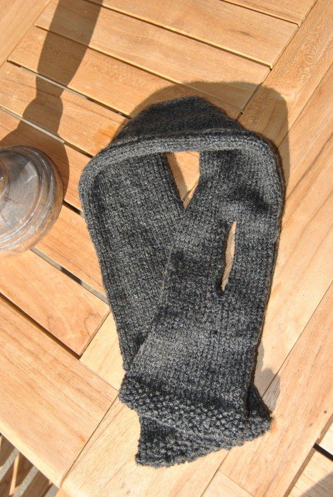 modele tricot echarpe avec fente   Animaux   Crochet et Tube 887c5122b67