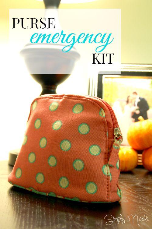 Purse Emergency Kit - Simply Nicole