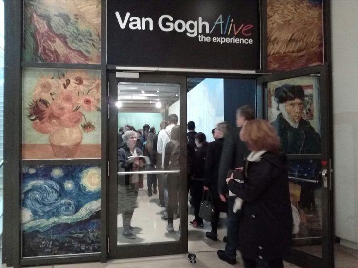 #vangoghalive, Athens