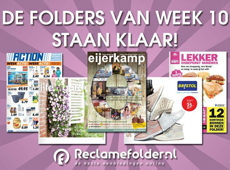 De nieuwe folders staan weer klaar! Bekijk de folders op www.reclamefolder.nl of download onze app. Fijne zondag!