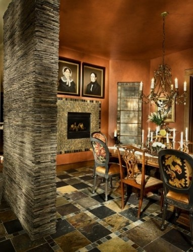 Here Is A Creative Idea How About A Fireplace In The Dining Room New Ideas For Electric