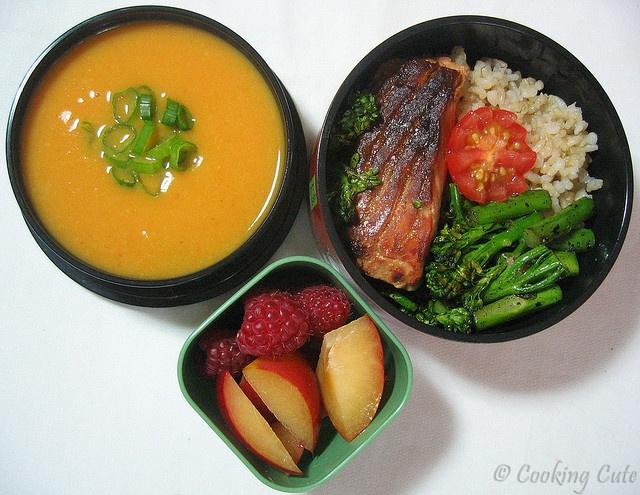 ... for bowl set tier potatoes wok forward ginger sweet potato soup