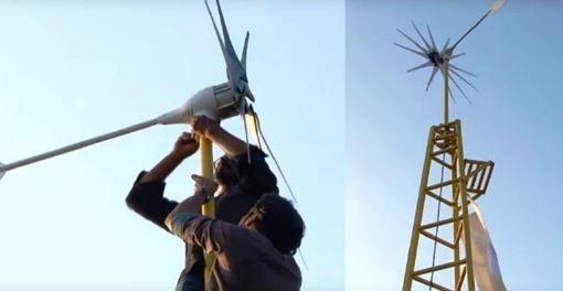 Une éolienne qui peut alimenter toute votre maison pour une vie entière et pour le prix d'un iPhone