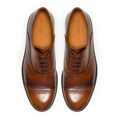 CLASSIC OXFORD SHOE: I want these so bad