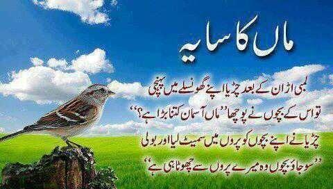 38 best maa ki yad images on Pinterest | Urdu poetry ...